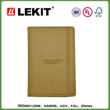 Fashion SVEPA pu cover journal notebook with elastic strap