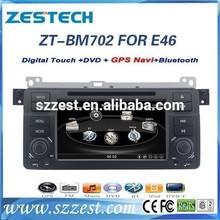 ZESTECH OEM Dashboard placement Car gps navigator for BMW E46 CAR DVD GPS NAVIGATION
