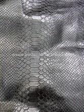 2014 hot selling 0.3mm-0.5mm wholesale genuine pig skin snake pattern