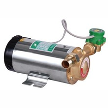 Automatic household water heater booster pump