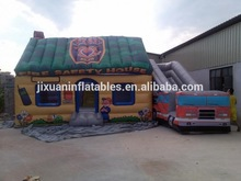 fire truck inflatable bounce house