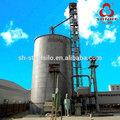 de almacenamiento de maíz 1500t sistema de maíz grano silo de acero el ensilaje de maíz