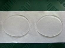 DIY use double sides sticky dots on glass