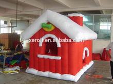 2014 super quality nice design inflatable christmas snow igloo