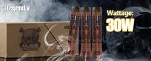 high end e-cigarette ecigs legend 5 kamry 30 watt vape mod vw e cig mod