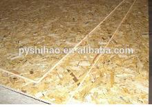 outdoor and indoor usage waterproof OSB / 100% poplar osb production enterprise