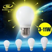 Led Lamp E27 220V 5w SMD2835 Led Bulb E27 Cool White Led Light Lamps Glass Lampshape Lightbulb Wholesale