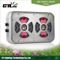 Ideal foot print inddor 270w powerfull led grow lights 5w for homegrow