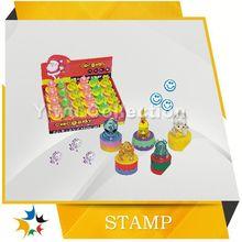 Promotional pen rubber stamp for children