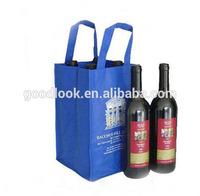 reusable non woven wine bag wine box wine carrier