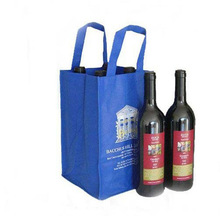 reusable non woven wine bag wine box wine carrier