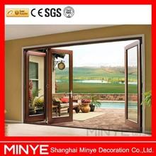 China Doors Exterior Custom Aluminum Patio Accordion Doors for Sale