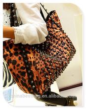 Stylish Leopard Shoulder Bag PU Leather Woman Shoulder Bag Ladies Should Bags ZW0097A
