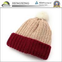 Warm Winter Hat,Free Knitting Pattern Hat Beanie,Custom Knitted Pom Beanie Hat