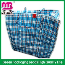 sgs/rohs certificated pp eco-woven black oem tote shopping bag
