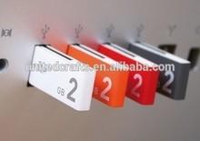 USB Clip,Paper Clip USB,Plastic Paper Clip USB Flash Drive