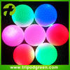 Glow in the dark, high bright led Golf practice balls application in night