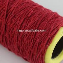 Ne 1s Nm 1,7 di cotone riciclato filato sconto punti vendita poliestere misto di lana acrilica