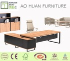High end modern office furniture wood desk