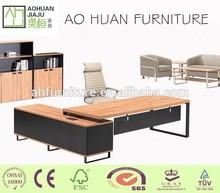 High end modern office furniture wood desk