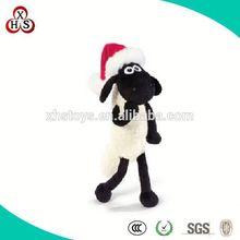 Custom made purple sheep, OEM plush toys