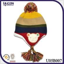 New animal knitting hat baby winter hat kids knitted beanie hat pattern