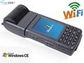 windows ce mão pda scanner de código de barras comimpressora móvel