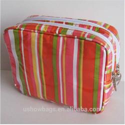 encai dot design travel cosmetic bag organizer/makeup organizer pouch with compartment manufacture