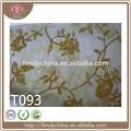 2014 nueva moda suave tela de tul estampado de flores de tul para la venta