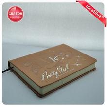 2014 fancy leather covers notebooks,cute diary for girls