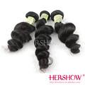 Onda 100% de la virgen crudo barato armadura brasileña del pelo recargable secador de pelo llena del cordón pelucas de cabello humano