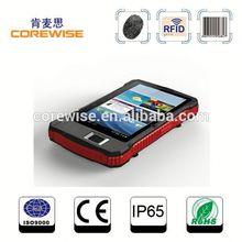 Rugged 3g android tablet pc A370,fingerprint reader,qr code,portable rfid reader