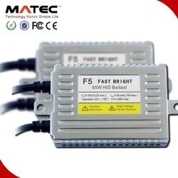 Easy to install f5 x5 50w xenon hid ballast 12v 50w slim ballast