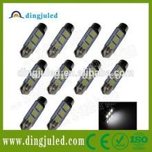Car Dome 42mm 3SMD LED Bulb Light Interior Festoon Lamp White