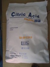số lượng lớn acid citric