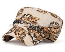 Alibaba china new coming flat-top custom visor caps