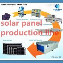 Jiangsu KEYLAND Small Scale Solar Panel Manufacturing Machines