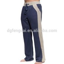 100% cotton custom mens sport hot sell loose sweat pants