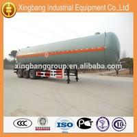 steel butane gas tank trailer / lpg tank made in China