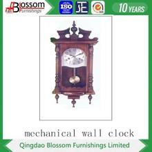 Shandong Yantai professiona wood crafts wall clock