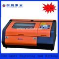 Mini plástico laser plotagem máquina com área de trabalho 400 * 400 mm 40 w