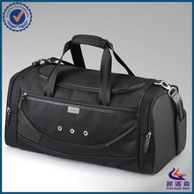 2014 New fashion faux leather men duffel bag with shoulder strap