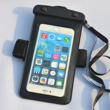 waterproof floating cases for htc and LG phone armband with strap