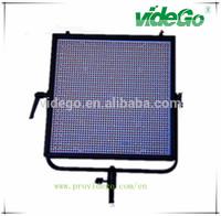 broadcast & video & studio & film use 100W 2400 small lamps 300*300mm dual-color 3200K-5600K videGo led light camera