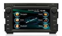 7 inch 2 din Car DVD player with GPS build in 3G/Bluetooth/DVD/Radio quad with CE For Kia Ceed