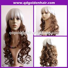 Graceful Color Mixed Halloween Wig Cosplay Wig