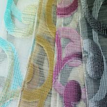beautiful door/window curtain , sample provide curtain sheer,cloud jacquard curtain series