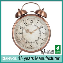 high quality metal clock cool alarm clocks Promotion trend gift for 2014