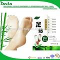 direct usine chinoise naturelles à base de plantes et de bambou vinaigre detox patch pied