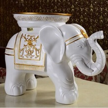 DMLS Brand own design showpieces for home decoration , refined elephant products